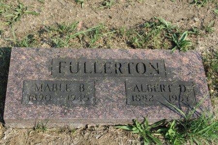 FULLERTON, MABLE B - Clarke County, Iowa | MABLE B FULLERTON