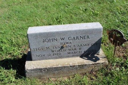 GARNER, JOHN W - Clarke County, Iowa | JOHN W GARNER