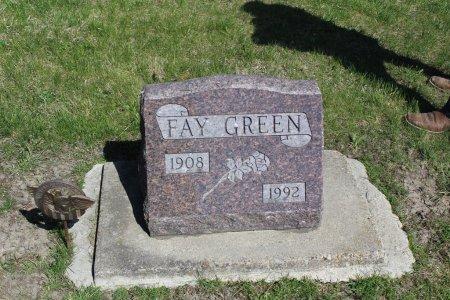 GREEN, FAY - Clarke County, Iowa | FAY GREEN