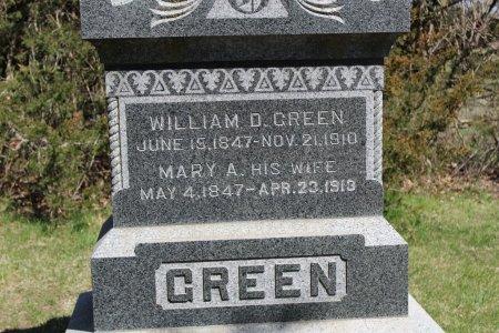 GREEN, MARY A - Clarke County, Iowa | MARY A GREEN