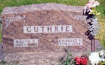 GUTHRIE, CHARLES EDWARD - Clarke County, Iowa | CHARLES EDWARD GUTHRIE