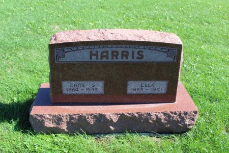 HARRIS, CHAS S - Clarke County, Iowa | CHAS S HARRIS