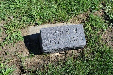 HARRIS, LOREN W - Clarke County, Iowa   LOREN W HARRIS