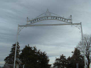 HOPEVILLE, CEMETERY - Clarke County, Iowa | CEMETERY HOPEVILLE