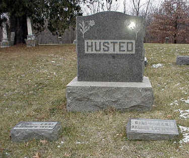 HUSTED, PLOT MARKER - Clarke County, Iowa | PLOT MARKER HUSTED