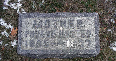 WESTCOTT HUSTED, PHOEBE - Clarke County, Iowa | PHOEBE WESTCOTT HUSTED