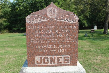 JONES, ELIZA J - Clarke County, Iowa | ELIZA J JONES