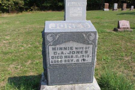 JONES, MINNIE - Clarke County, Iowa | MINNIE JONES