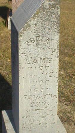 MOWERY LAMB, BARBARA ANN - Clarke County, Iowa | BARBARA ANN MOWERY LAMB