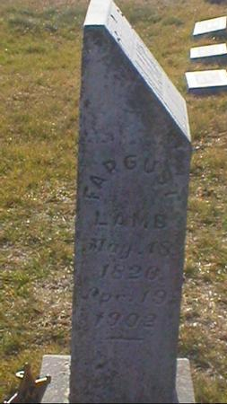 LAMB, FARGUST SR - Clarke County, Iowa | FARGUST SR LAMB