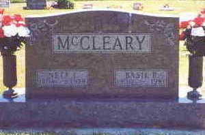 MC CLEARY, BASIL (DICK) - Clarke County, Iowa | BASIL (DICK) MC CLEARY