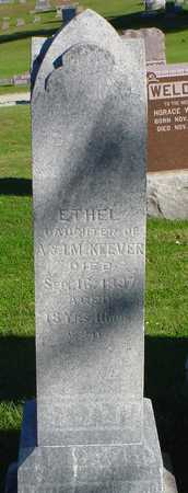 MCKEEVER, ETHEL - Clarke County, Iowa | ETHEL MCKEEVER
