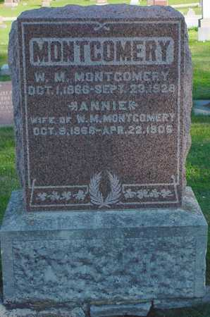 MONTGOMERY, ANNIE - Clarke County, Iowa   ANNIE MONTGOMERY