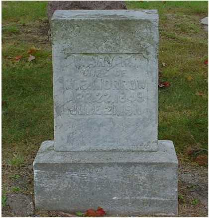WHISLER MORROW, MARY M. - Clarke County, Iowa | MARY M. WHISLER MORROW
