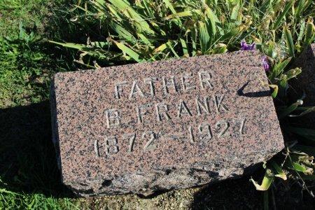 PATTERSON, B FRANK - Clarke County, Iowa   B FRANK PATTERSON