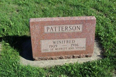 PATTERSON, WINIFRED - Clarke County, Iowa | WINIFRED PATTERSON