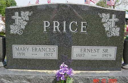 PRICE, MARY FRANCES - Clarke County, Iowa | MARY FRANCES PRICE