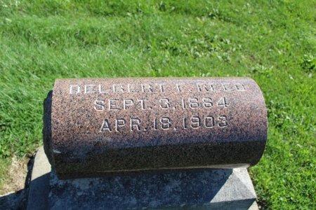 REED, DELBERT - Clarke County, Iowa | DELBERT REED