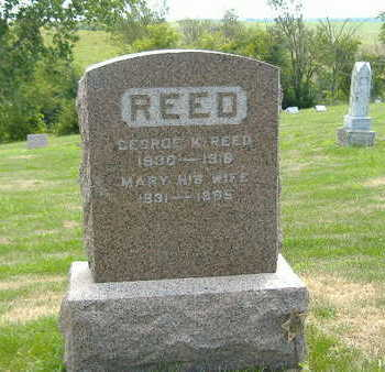 REED, MARY - Clarke County, Iowa | MARY REED
