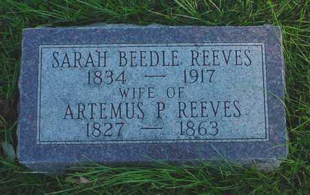 BEEDLE REEVES, SARAH - Clarke County, Iowa | SARAH BEEDLE REEVES