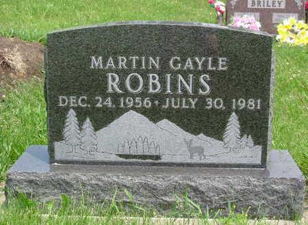 ROBINS, MARTIN GAYLE - Clarke County, Iowa | MARTIN GAYLE ROBINS