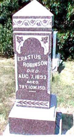 ROBINSON, ERASTUS - Clarke County, Iowa | ERASTUS ROBINSON