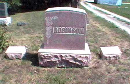 ROBINSON, HENRY HARRISON - Clarke County, Iowa | HENRY HARRISON ROBINSON