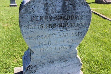 SADDORIS, HENRY - Clarke County, Iowa | HENRY SADDORIS