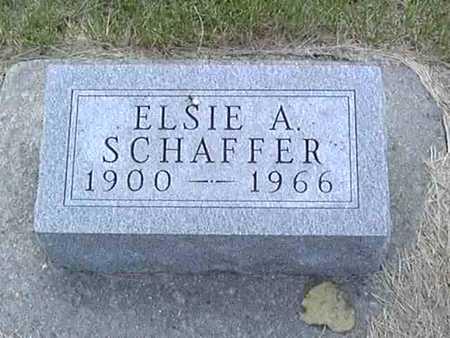 SCHAFFER, ELSIE - Clarke County, Iowa | ELSIE SCHAFFER