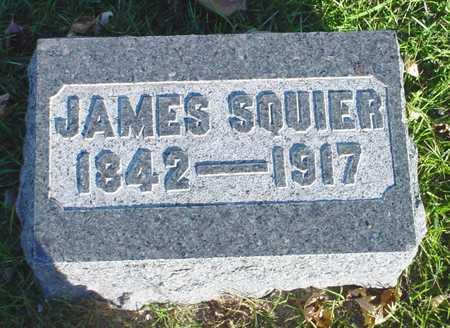SQUIER, JAMES - Clarke County, Iowa   JAMES SQUIER