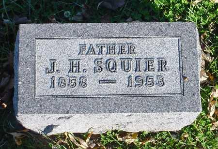 SQUIER, J. H. - Clarke County, Iowa | J. H. SQUIER