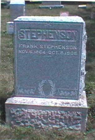 STEPHENSON, JOHN FRANKLIN - Clarke County, Iowa   JOHN FRANKLIN STEPHENSON