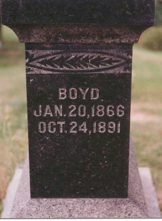 STIFFLER, BOYD - Clarke County, Iowa | BOYD STIFFLER