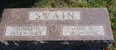 SWAIN, JANE - Clarke County, Iowa | JANE SWAIN