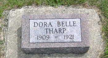 THARP, DORA BELLE - Clarke County, Iowa   DORA BELLE THARP