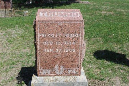 TRUMBO, PRESSLEY - Clarke County, Iowa | PRESSLEY TRUMBO