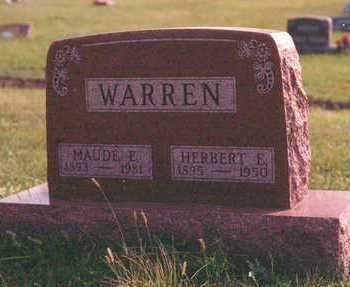 WARREN, MAUDE - Clarke County, Iowa | MAUDE WARREN