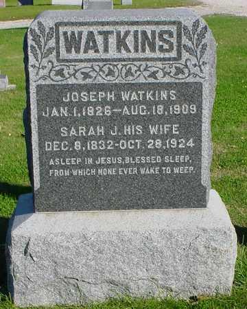 WATKINS, JOSEPH - Clarke County, Iowa   JOSEPH WATKINS