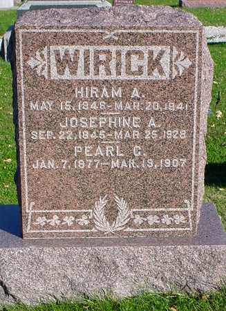 WIRICK, JOSEPHINE A. - Clarke County, Iowa | JOSEPHINE A. WIRICK