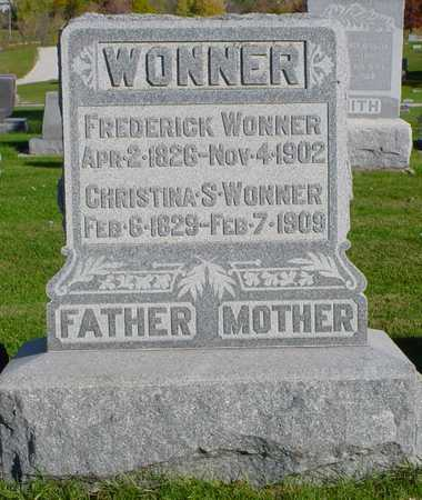 WONNER, CHRISTINA S. - Clarke County, Iowa | CHRISTINA S. WONNER
