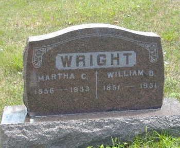 WRIGHT, MARTHA C. - Clarke County, Iowa | MARTHA C. WRIGHT