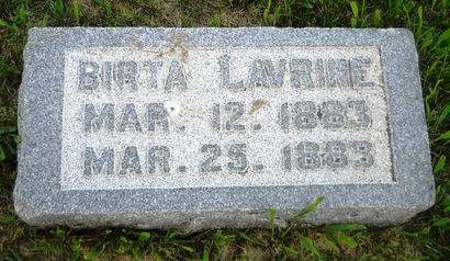 ANDERSEN, BIRTA LAVRINE - Clay County, Iowa | BIRTA LAVRINE ANDERSEN
