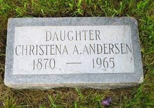 ANDERSEN, CHRISTENA A. - Clay County, Iowa | CHRISTENA A. ANDERSEN