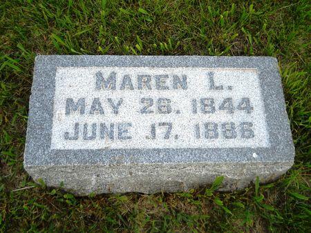 ANDERSEN, MAREN L. - Clay County, Iowa | MAREN L. ANDERSEN