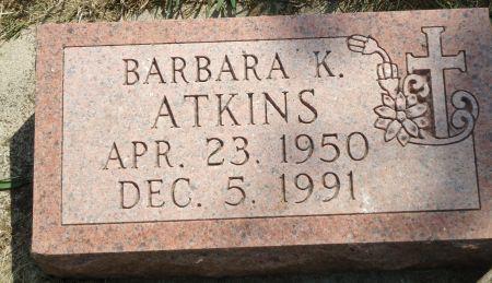 ATKINS, BARBARA K. - Clay County, Iowa | BARBARA K. ATKINS