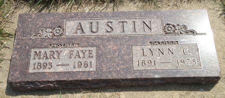 AUSTIN, MARY FAYE - Clay County, Iowa   MARY FAYE AUSTIN