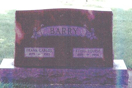 BARRY, ETHEL LOUISE - Clay County, Iowa   ETHEL LOUISE BARRY