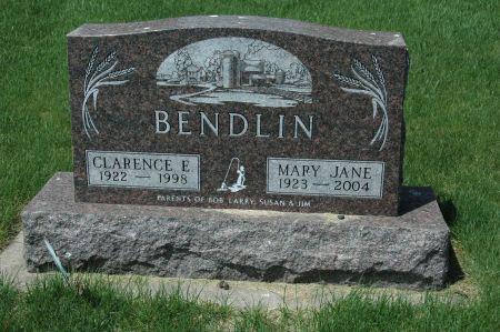 BENDLIN, CLARENCE E. - Clay County, Iowa | CLARENCE E. BENDLIN