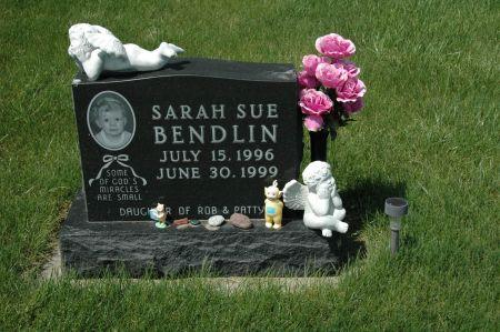 BENDLIN, SARAH  SUE - Clay County, Iowa   SARAH  SUE BENDLIN
