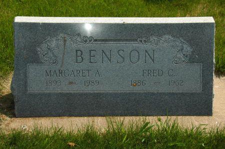 BENSON, MARGARET A. - Clay County, Iowa   MARGARET A. BENSON